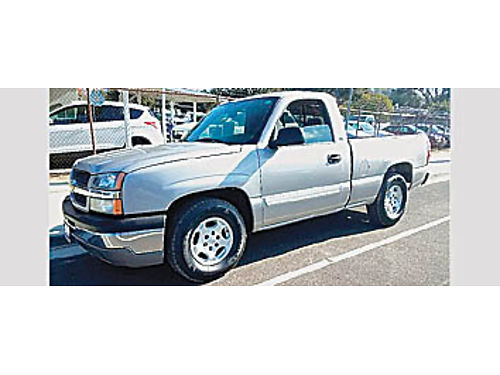 2004 CHEVY 1500 LS - SHORTBED 48L V8 at ac ps pw pdl CD bdlnr tow local truck 182267