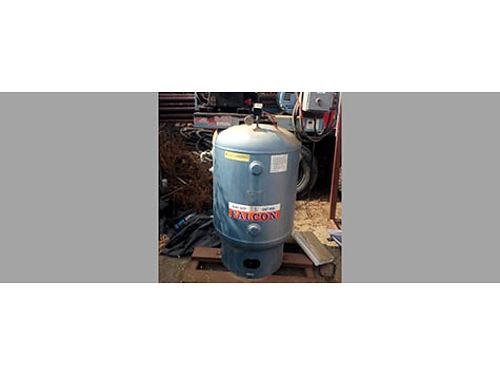 FALCON COMPRESSOR, 10 HP, WORKS GREAT, WITH ...