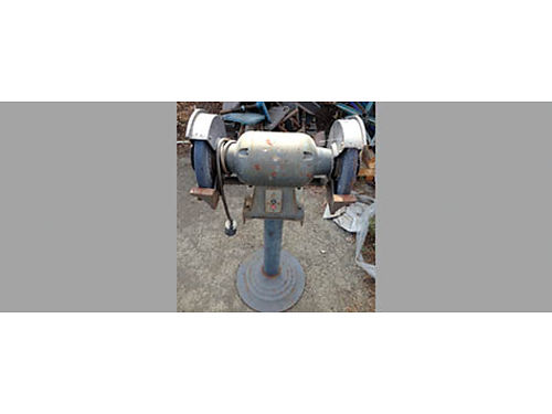 BENCH GRINDER, 3 HP, 220V, GOOD CONDITION, $300