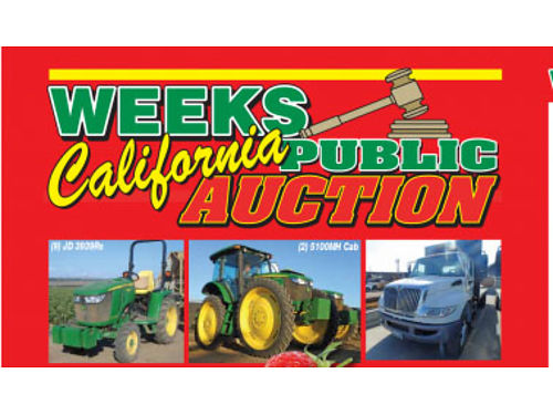 DEC 15 2017 PUBLIC AUCTION 900 AM FRIDAY ASSET LIQUIDATION AUCTION EVERYTHING MUST GO ONE DAY