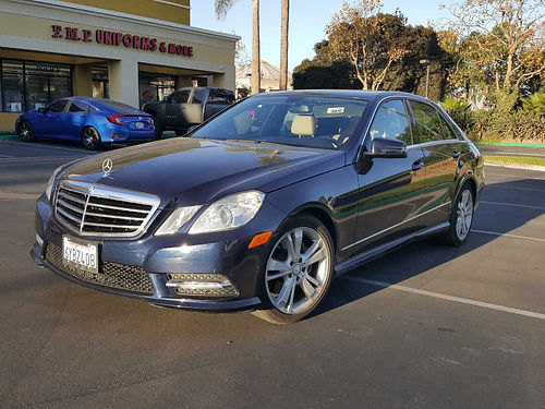 2013 MBZ E350 Auto full pwr 68K mi Navi lthr new front tires 1 owner service records very c