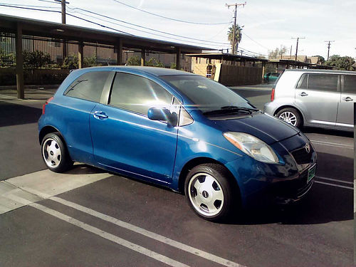 2007 TOYOTA YARIS auto 4cyl 2 door only 70K miles smogged 2300