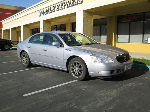 2006 BUICK LUCERNE auto 6cyl PS PB htd lthr seats On-Star CD ABS 1 owner dlr maint tracti
