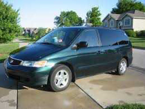 2000 HONDA ODYSSEY good tires auto runs xlnt green w tan int se habla espanol 800 805-628-620