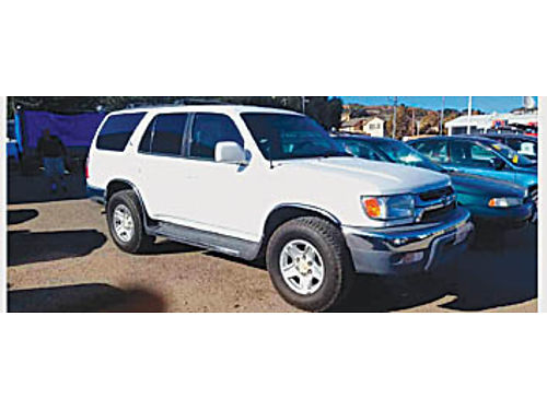 2001 TOYOTA 4RUNNER - 2 wheel drive good tires clean 226974 4995 KARS with a K
