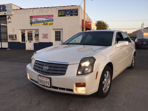 2006 CADILLAC CTS - Only 89k miles First to see will buy Loaded like new call Scott for best pri