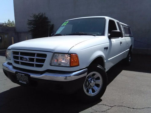 2002 FORD RANGER EDGE ext cab  camper shell auto AC xlnt cond must see call Scott for best pri