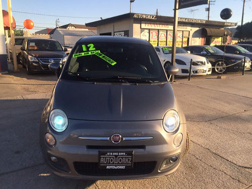 2012 FIAT 500 Sport - ow miles fully loaded lthr xlnt cond on sale low down call Scott for bes