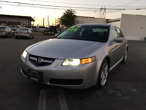 2006 ACURA TL - Fully loaded lthr auto AC immaculate call Scott for best price 32047 7995