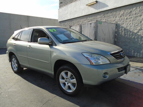 2007 LEXUS RX 400H - Hybrid Top of the line SUV Dont buy gas loaded call Scott for best price