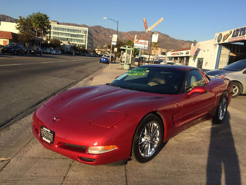 1998 CHEVY CORVETTE - Low low miles Low down payment fully loaded hurry call Scott for best pric