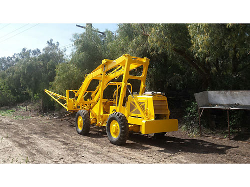 SUPER 8 CARY LIFT PETTIBONE gd running cond 18ft boom 24ft lift grt for customs or production fr