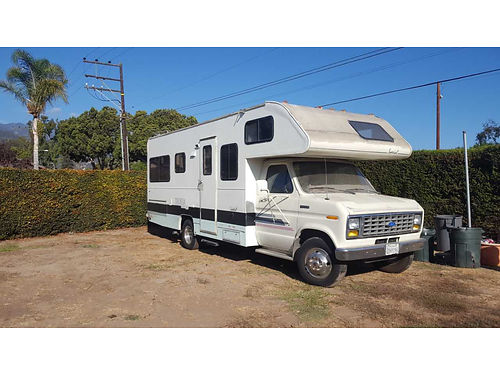 1991 MONTANA RV Class C gen 34K orig miles kitchbath qn bed ACheater everything works very