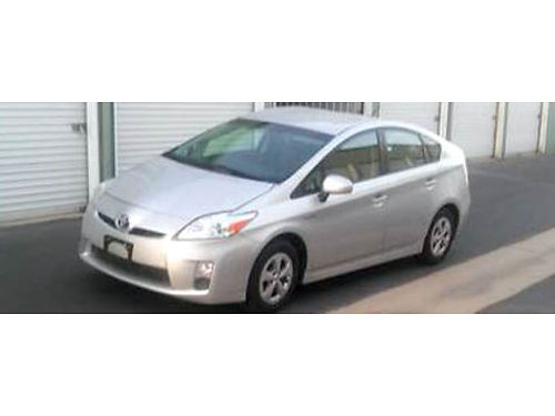 2010 TOYOTA PRIUS HYBRID auto 4 cyl all pwr only 93K mi AC CD keyless entry w2 remotes well