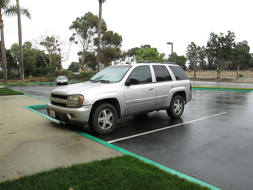 2004 CHEVY TRAILBLAZER 4x4 auto V6 all power AC CD 105K orig miles runs great great cond c