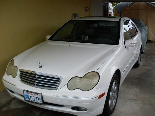2004 MBZ C320 auto 6cyl 32L great MPG 124600 orig miles runs great xlnt cond change all oi