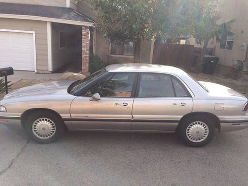 1997 BUICK LESABRE auto V6 new tires  trans 126K orig mi well maint all receipts  service re