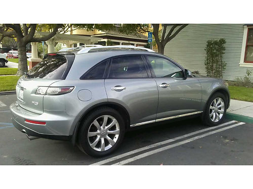 2008 INFINITI FX35 super clean in and out always garaged fully loaded leather sunroof all the