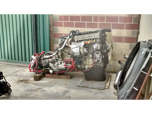 2013 DETROIT DD13 ENGINE, WITH EATON TRANSMISSION, ...