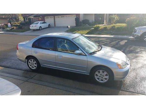 2003 HONDA CIVIC auto 4cyl snrf 4dr clean in and out runs very good 2950 obo