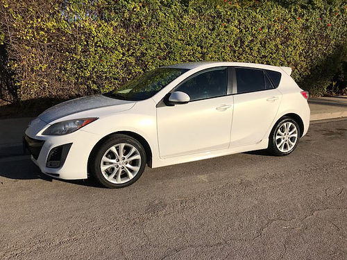 2010 MAZDA 3 auto 4cyl 5 dr HB 85K mi all pwr AC CD new paint well maint wsvc records o