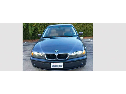 2003 BMW 325I 4dr Premium - Sport pkg all pwr leather AC stereo sunroof 110K orig miles xln