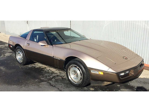 1987 CHEVY CORVETTE manual 5 spd new paint trim etc needs minor elect work - not running orig
