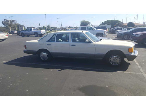 1986 MERCEDES 300SDL diesel full equip air ps snrf XM this car both looks and drives like a br