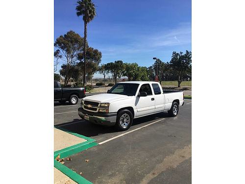2005 CHEVY SILVERADO 1500 EXT CAB XL 154K mi reg paid clean title new rotors clean inside gd