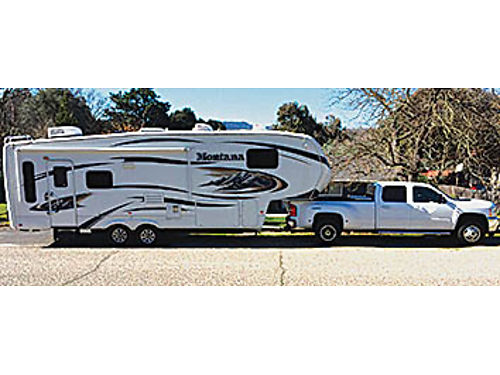 2010 MONTANA 5th wheel 29000 non smoker no pets excellent condition many extras 2011 Silvera