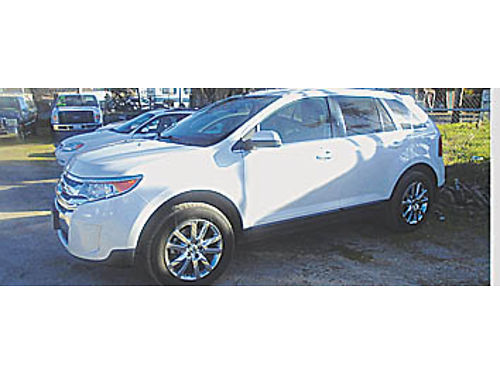 2013 FORD EDGE LIMITED - 35 V6 at ac pdl CD lthr 84k mpg 2 pseats A214129 15988  KAR