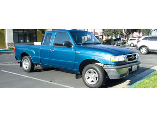2004 MAZDA B2300 EXT CAB 5 spd 4cyl 187K mi great cond in  out incl tool box owned for 9 yrs