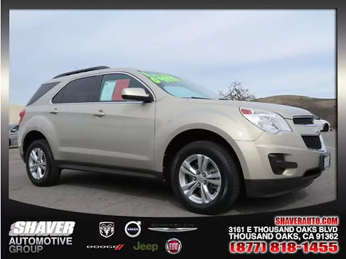 2010 CHEVY EQUINOX LT - Clean Carfax alloys iPhone integration Bluetooth keyless remote start