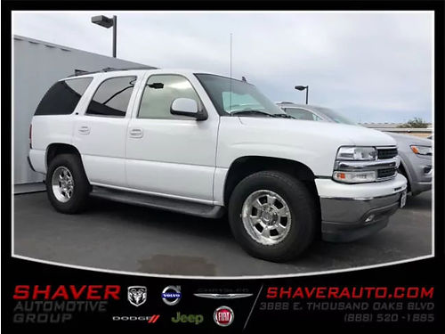 2006 CHEVY TAHOE LT - Family Ready One-owner clean Carfax keyless premium wheels running boards