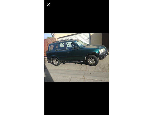 1999 HONDA CRV please read before you call stick shift slvg due to a fender bender you hardly no
