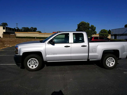 2017 CHEVY SILVERADO 1500 EXT CAB immaculate cond call for more info 24999 805-603-5111or