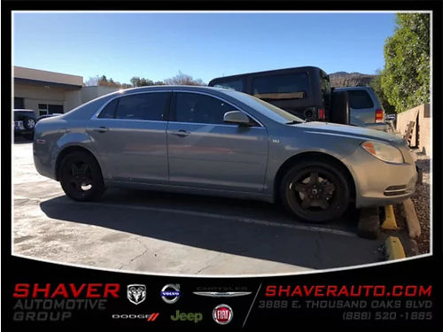 2008 CHEVROLET MALIBU LT - 24L ECOTEC auto woverdrive clean Carfax alloys MP3 power seat AC