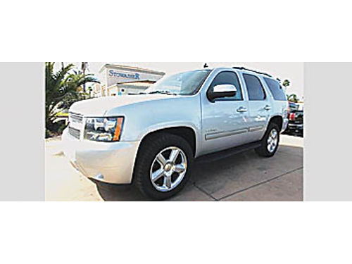 2012 CHEVY TAHOE LT - 3rd row ltr V8 53L htd sts rear ac prrem whls tow 185178 25495 S