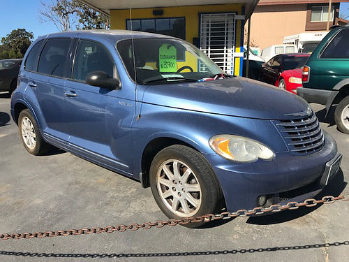 2006 CHRYSLER PT CRUISER - Own a classic full power 4cyl gas saver auto extra clean runs  loo