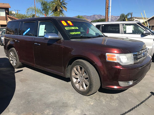 2009 FORD FLEX LIMITED - Panoramic roof navi all power leather cold AC stereo CDMP3 fully lo