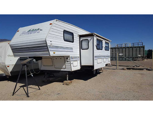 1999 WANDERER 5TH WHEEL 26 one slide out new tires jack stand incl fully furnished  self cont