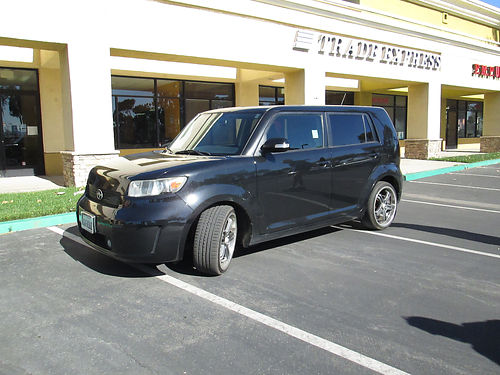 2008 SCION XB auto blk lthr new upgraded wheels and tires cust exhst 139K mi AC CD runs  d
