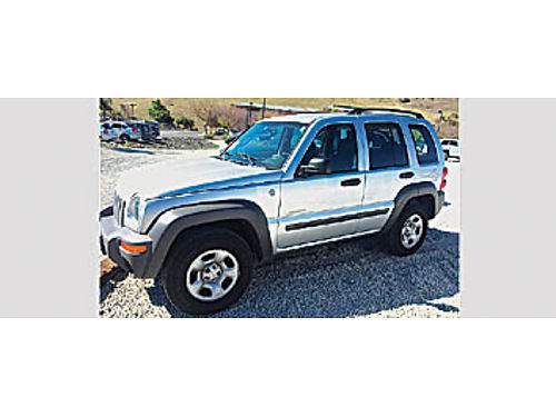 2004 JEEP LIBERTY - 37 V6 at ac pdl CD 100k mi local trade 100123 176657 6988 KARS NO