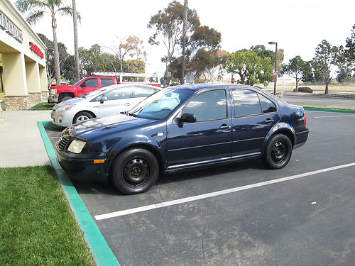 2000 VW JETTA 5 spd 4cyl 4dr cass AC pw pdl new head gaskets coolant fans  tags until Feb