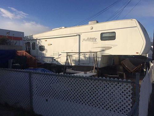2002 WANDERER FIFTH WHEEL 30 2 slideouts fully self contained good cond 1500 Larry