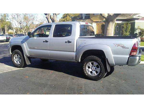 2006 TOYOTA TACOMA DOUBLE CAB TRD 121K orig mi auto V6 Immaculate cond in  out AC CD bedlin