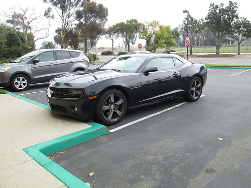 2012 CHEVY CAMARO RS auto V6 all power AC sunroof alloy whls stereo well maint leather orig
