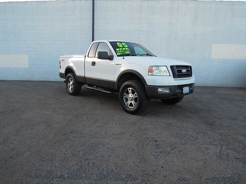 2005 FORD F150 FX4 B72986 auto 4x4 54L V8 locking bed cover all pwr steps very beautiful