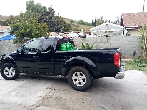 2012 NISSAN FRONTIER KING CAB auto 6cyl AC CD alarm 75K miles new tires all svcs are up to d