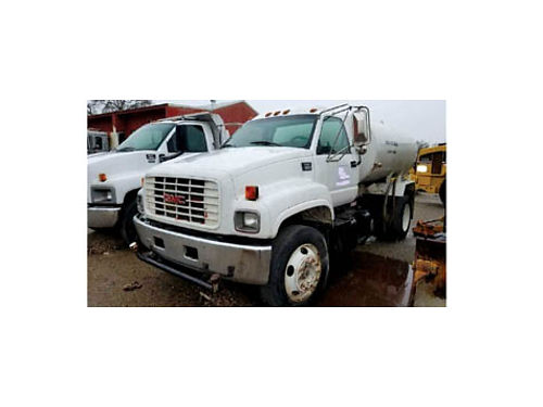 1998 GMC C6500 2K Water Truck Diesel Tier 1 Spec Veh Tag to Dec 2020 Low Miles Good Condition